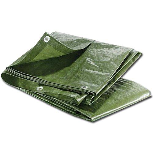 MAXPACK 23518 zakrývací plachta s oky 60g/m² 4x5m zelená