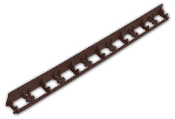 Obruba trávníková lem rimbord hnědá 45mm/1m