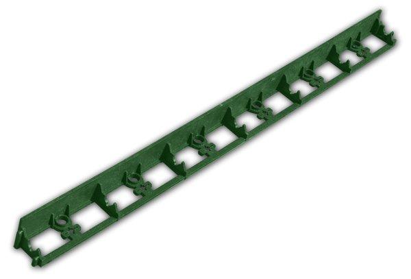 Obruba trávníková lem rimbord zelená 45mm/1m