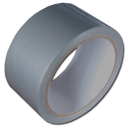 textilní DUCT páska - stříbrná 48mmx10m