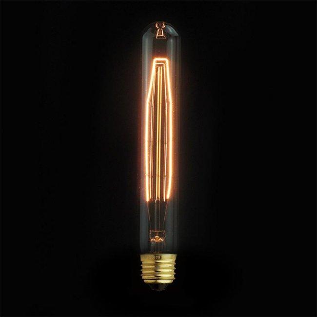 Max T30-185 10AK Žárovka Edison 40W retro 7 - závit E27/ 30mm x 185mm