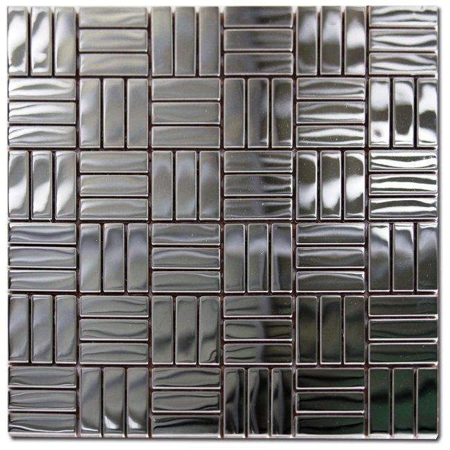 Maxwhite ASG093 Mozaika nerezová nerez 30x30cm