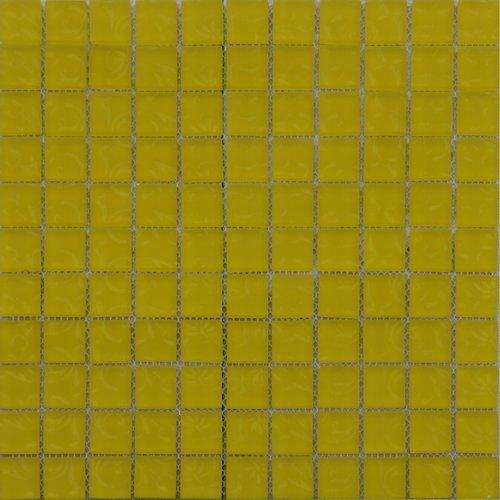 Maxwhite ASDK2H02 Mozaika skleněná žlutá s dekorem 29,7x29,7cm sklo