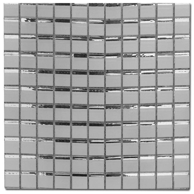 Maxwhite JM02 Mozaika skleněná zrcadlová zrcadlo 29,7x29,7cm sklo zrcadlo