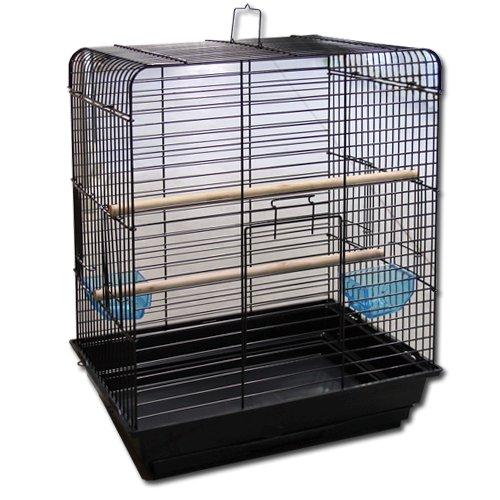 Max 812 Klec černá pro ptáky na papoušky 520 x 410 x 670 mm