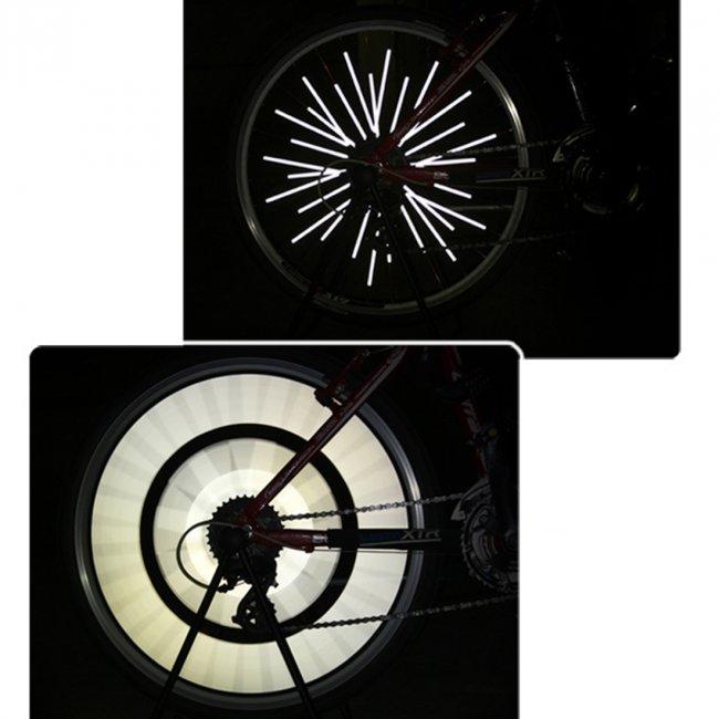 Max RFK01 reflexní tyčinky 12ks na dráty - špice kol