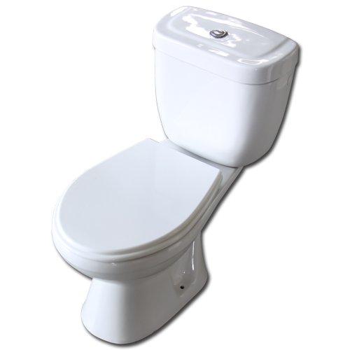 Maxwhite WC kombi mísa 02D zadní vývod - kompletní WC včetně sedátka a splachovacího systému