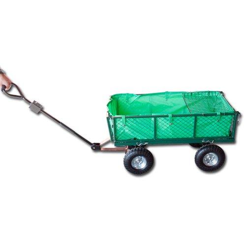 Max vozík zahradní skládací 300Kg nafukovací kola