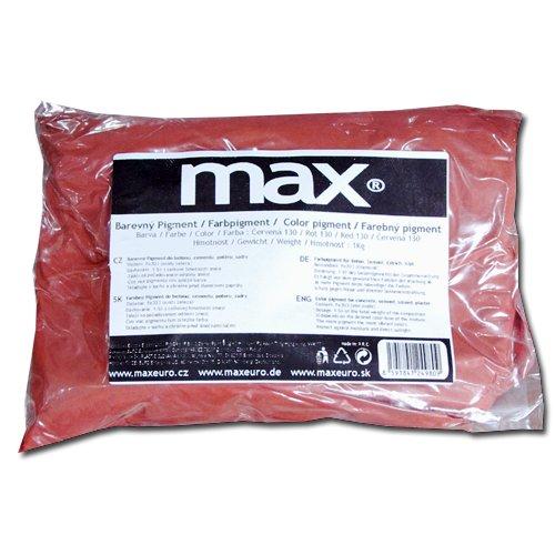 Max Práškový pigment do betonu červený