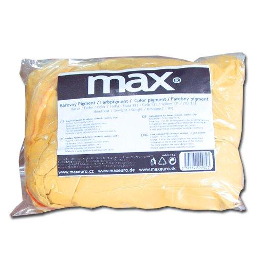 Max Práškový pigment do betonu 1Kg - žlutý