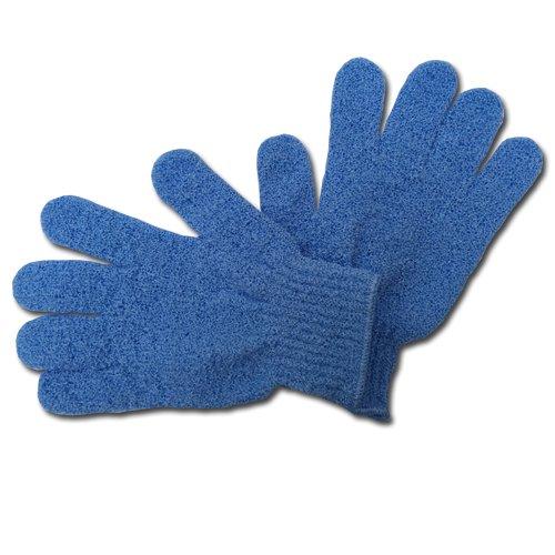 Max GR004 Peelingová rukavice masážní modrá