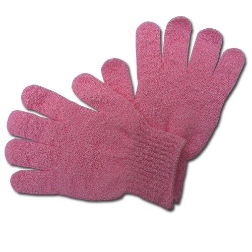 Max GR003 Peelingová rukavice masážní růžová