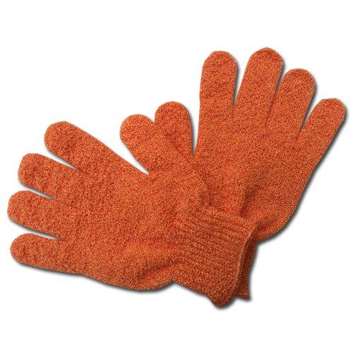 Max GR002 Peelingová rukavice masážní oranžová