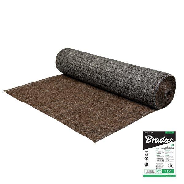 Bradas tkanina stínící 90% - stínovka 230g/m2, výška 1,5m - dvojté pletení