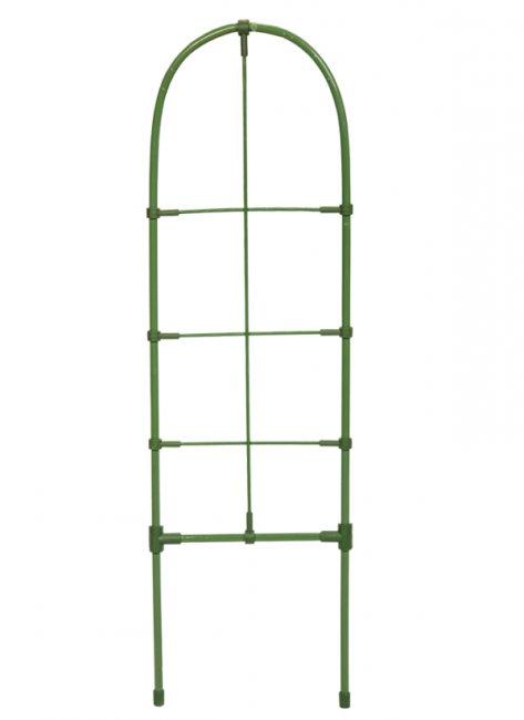 Max žebříková podpěra rostlin 60cm - mřížková půlkulatá