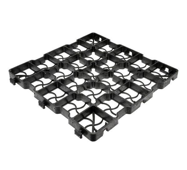 Zatravňovací dlažba 38,5x38,5x4cm, 440t/m2