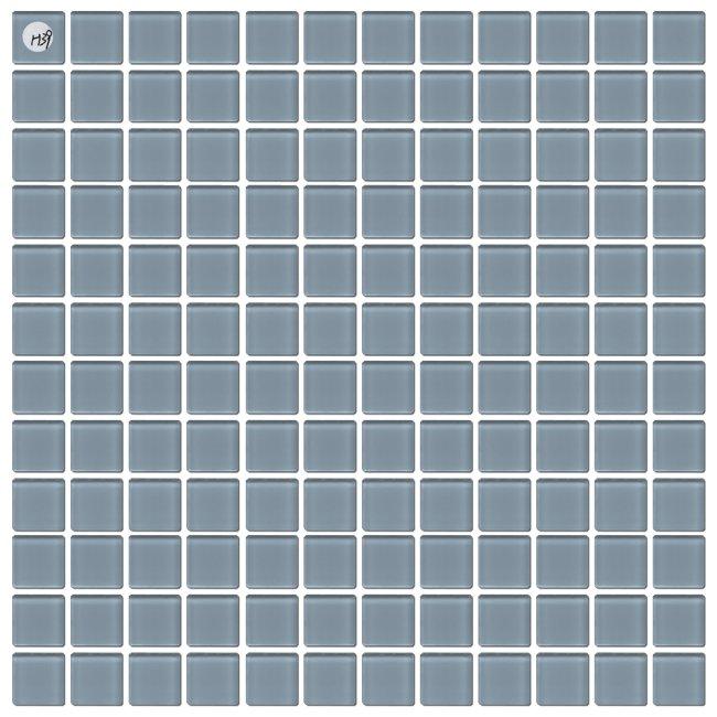 Maxwhite H39 Mozaika skleněná šedá světlá 29,7x29,7cm sklo