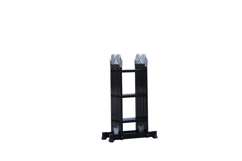 Max DLM 203 žebřík černý - štafle multifunkční hliníkový 3,58m - lešení