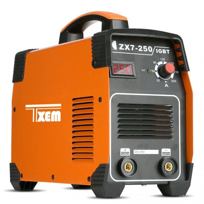 Max ZX7-250E MMA ARC 20A - 250A svářecí Invertor - Svářečka elektrodová