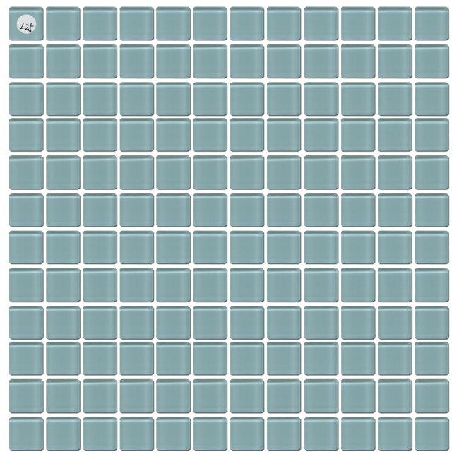Maxwhite L25 Mozaika skleněná zelená světlá 29,7x29,7cm sklo