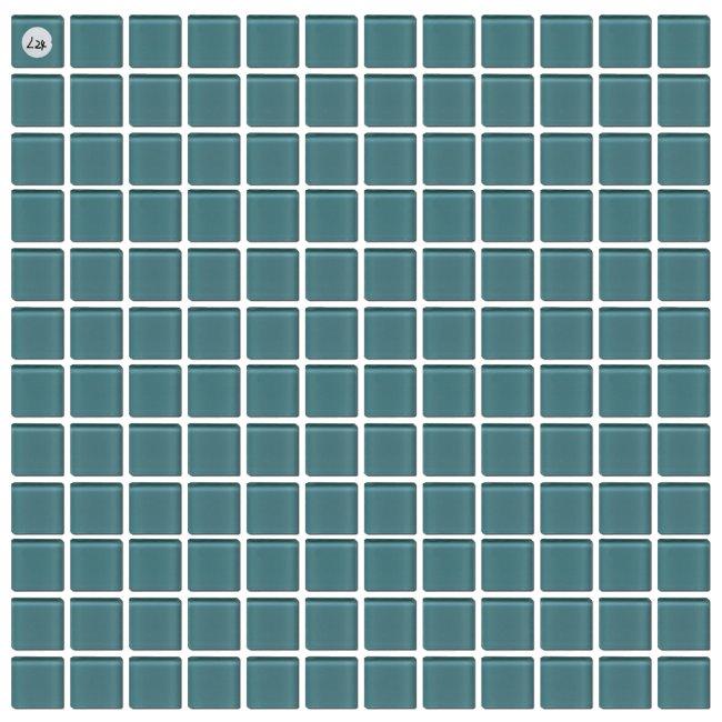 Maxwhite L24 Mozaika skleněná zelená střední 29,7x29,7cm sklo