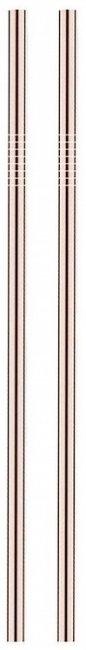 Maxpack Brčko nerezové 21,5cm x 8mm Růžově zlaté