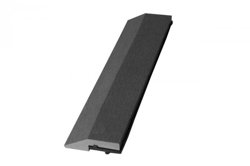 Max šedá WPC Lemovací lišta 21 x 75 x 298mm