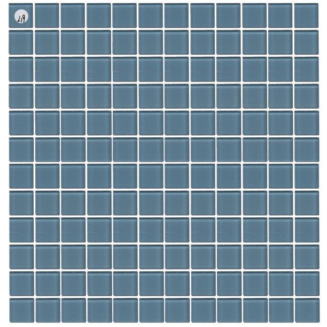 Maxwhite L19 Mozaika skleněná modrá 29,7x29,7cm sklo