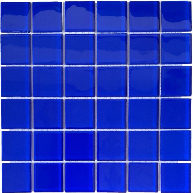 Maxwhite CH4409PM Mozaika skleněná modrá 30x30cm sklo