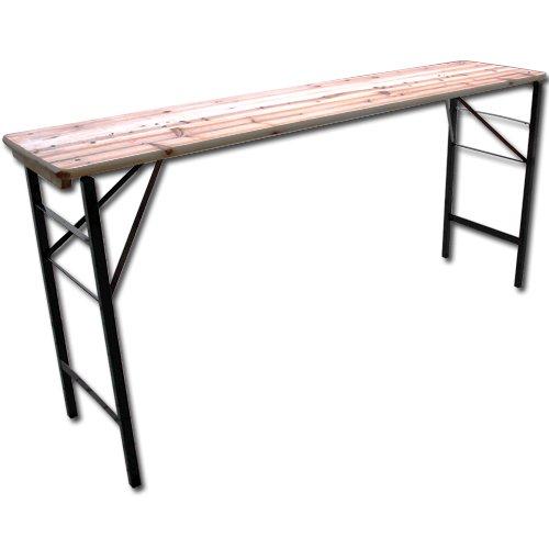 Stůl pivní - stůl bufetový - beer set  220 x 50 x 105 cm