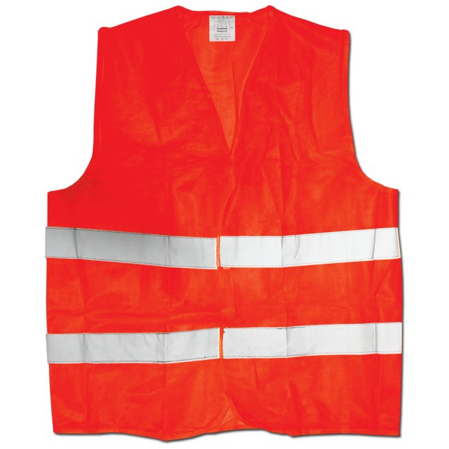 Max RFO03 Reflexní vesta výstražná oranžová velikost XXXL