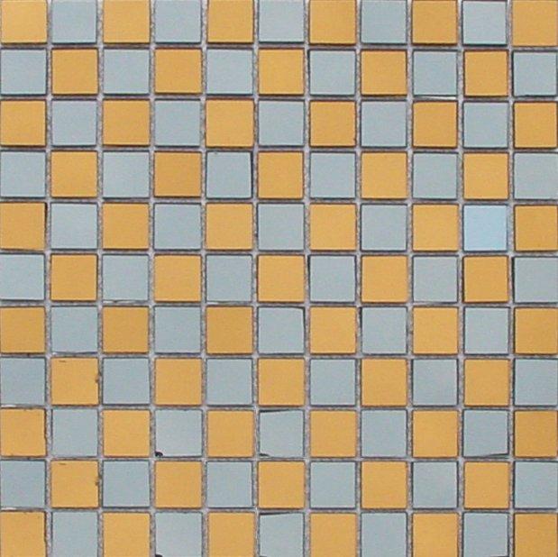 Maxwhite JSM-JM020 Mozaika skleněná zrcadlová šachovnice hnědá 29,7x29,7cm sklo