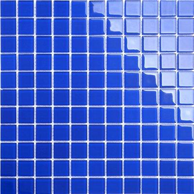 Maxwhite CH4013PM Mozaika skleněná modrá tmavá 30x30cm sklo
