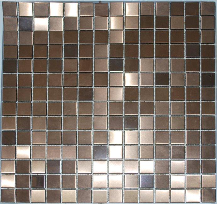 Maxwhite JSM-JG014 Mozaika nerez měděná 30x30cm