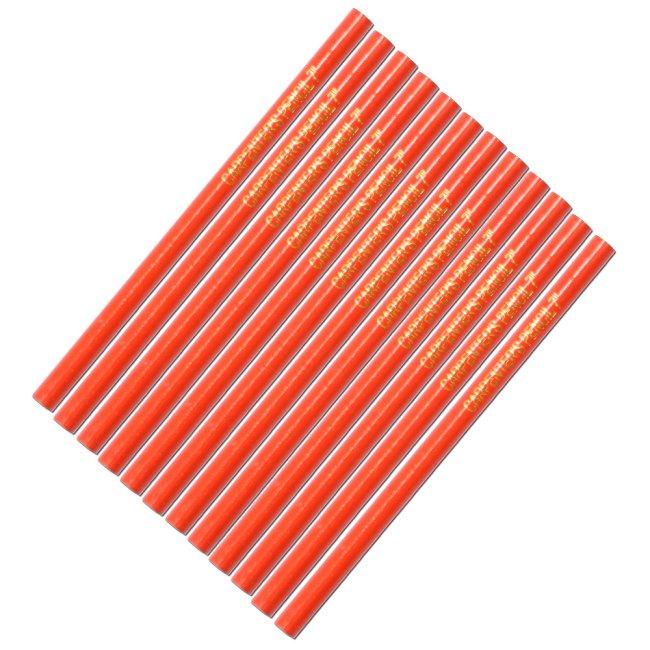 Tužka tesařská (červený lak) 12ks