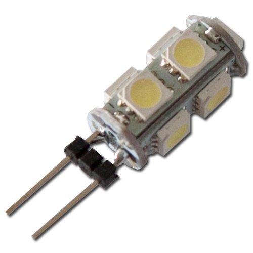 MAX LED žárovka G4 9xSMD 1.5W studená bílá  - cool white