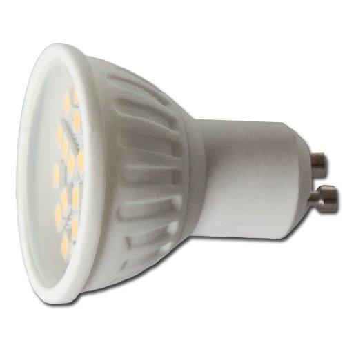 LED žárovka GU10 21xSMD 4.5W 6000-6500K studená bílá  - coll white