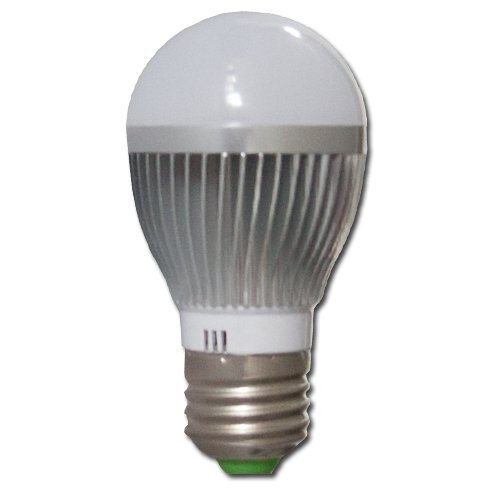 Max Žárovka LED 3W  E27 Alu tělo - 3000-3500K Warm White - teplá bílá