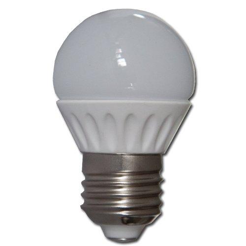 Max Žárovka LED 3W  E27 Keramické tělo - 3000-3500K Warm White - teplá bílá
