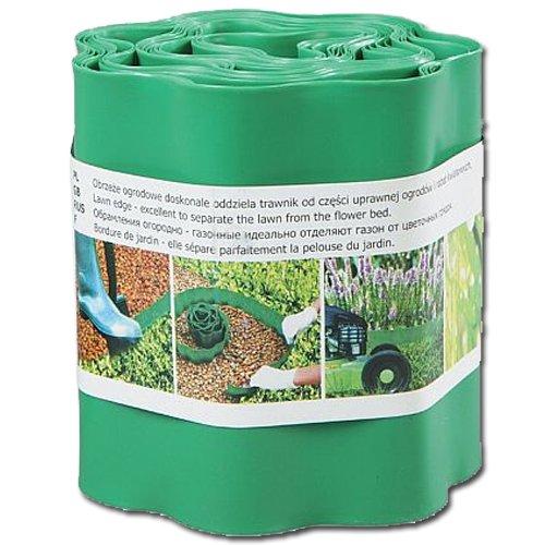 Trávníková obruba zelená 20cm x 9m