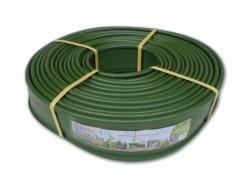 Obruba trávníková palisáda 18m x 12,5cm zelená