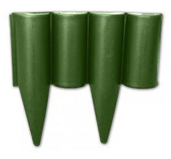 Palisáda zahradní, obruba trávníková zelená 2,5m