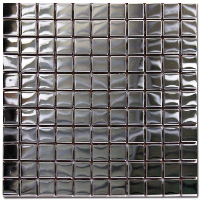 Maxwhite SM036 Mozaika skleněná pokovená 30x30cm sklo