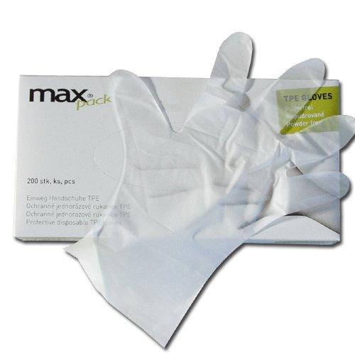 Maxpack 32469 Rukavice TPE jednorázové velikost M  (200ks)